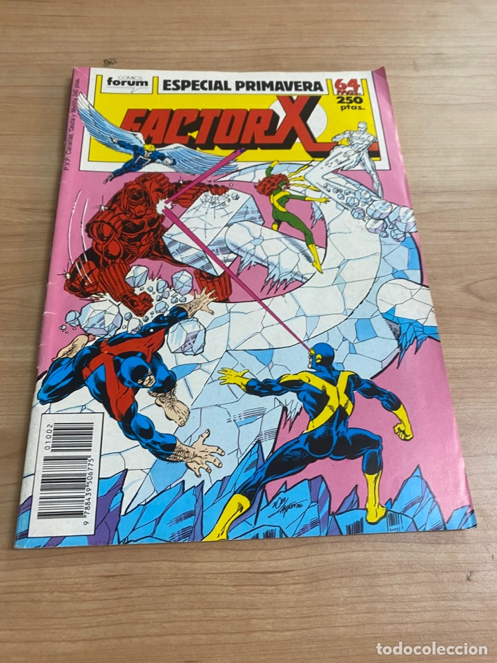 "Cómics: LOTE DE 4 CÓMICS ""FACTOR X"" EDICIONES ESPECIALES MARVEL/ COMICS FORUM AÑOS 80 - Foto 2 - 287676243"