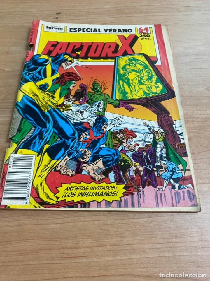 "Cómics: LOTE DE 4 CÓMICS ""FACTOR X"" EDICIONES ESPECIALES MARVEL/ COMICS FORUM AÑOS 80 - Foto 4 - 287676243"