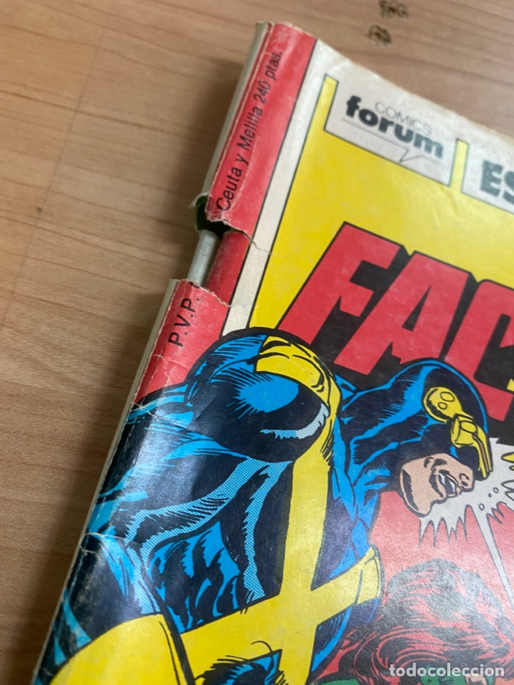 "Cómics: LOTE DE 4 CÓMICS ""FACTOR X"" EDICIONES ESPECIALES MARVEL/ COMICS FORUM AÑOS 80 - Foto 5 - 287676243"