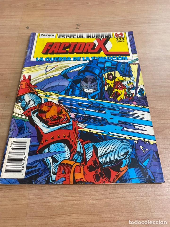 "Cómics: LOTE DE 4 CÓMICS ""FACTOR X"" EDICIONES ESPECIALES MARVEL/ COMICS FORUM AÑOS 80 - Foto 7 - 287676243"