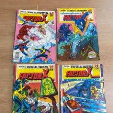"Cómics: LOTE DE 4 CÓMICS ""FACTOR X"" EDICIONES ESPECIALES MARVEL/ COMICS FORUM AÑOS 80. Lote 287676243"