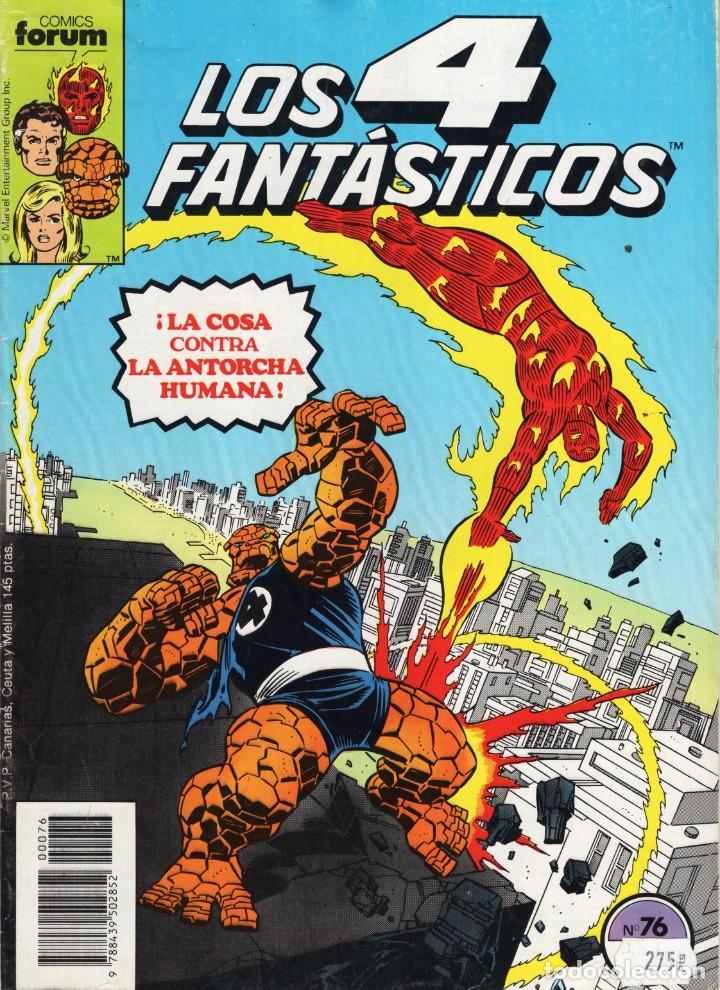 LOS 4 FANTASTICOS VOL. 1 Nº 76 - FORUM - BUEN ESTADO - OFM15 (Tebeos y Comics - Forum - 4 Fantásticos)