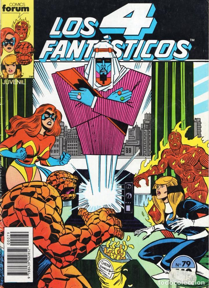 LOS 4 FANTASTICOS VOL. 1 Nº 79 - FORUM - BUEN ESTADO - OFM15 (Tebeos y Comics - Forum - 4 Fantásticos)