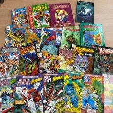 Comics: LOTE DE 21 COMICS MARVEL & DC AÑOS 80/90. Lote 287679523