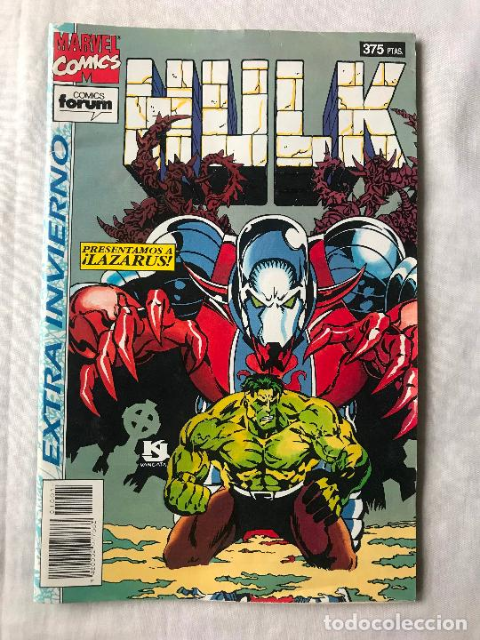 HULK EXTRA INVIERNO 1994 ( PETER DAVID ), MUY BUEN ESTADO, FORUM MARVEL (Tebeos y Comics - Forum - Hulk)