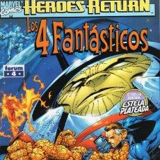 Cómics: 4 FANTASTICOS VOL. 3 HEROES RETURN Nº 4 - FORUM - ESTADO EXCELENTE - OFM15. Lote 287687638