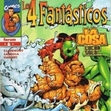 Cómics: 4 FANTASTICOS VOL. 3 HEROES RETURN Nº 6 - FORUM - ESTADO EXCELENTE - OFM15. Lote 287688343