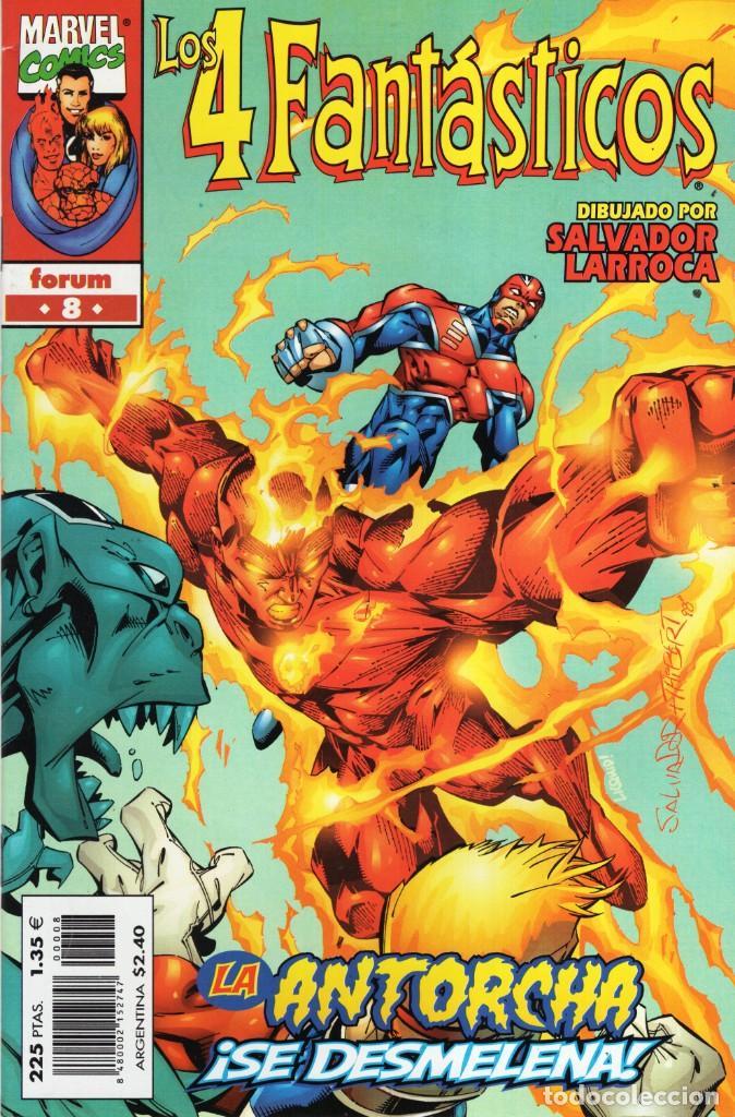 4 FANTASTICOS VOL. 3 HEROES RETURN Nº 8 - FORUM - ESTADO EXCELENTE - OFM15 (Tebeos y Comics - Forum - 4 Fantásticos)