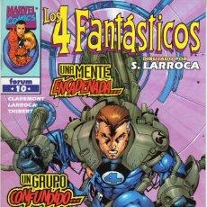 Cómics: 4 FANTASTICOS VOL. 3 HEROES RETURN Nº 10 - FORUM - ESTADO EXCELENTE - OFM15. Lote 287689513