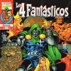 Cómics: 4 FANTASTICOS VOL. 3 HEROES RETURN Nº 26 - FORUM - ESTADO EXCELENTE - OFM15. Lote 287690858