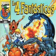 Cómics: 4 FANTASTICOS VOL. 3 HEROES RETURN Nº 28 - FORUM - ESTADO EXCELENTE - OFM15. Lote 287691548