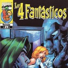 Cómics: 4 FANTASTICOS VOL. 3 HEROES RETURN Nº 29 - FORUM - ESTADO EXCELENTE - OFM15. Lote 287692843