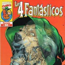 Cómics: 4 FANTASTICOS VOL. 3 HEROES RETURN Nº 30 - FORUM - ESTADO EXCELENTE - OFM15. Lote 287693393