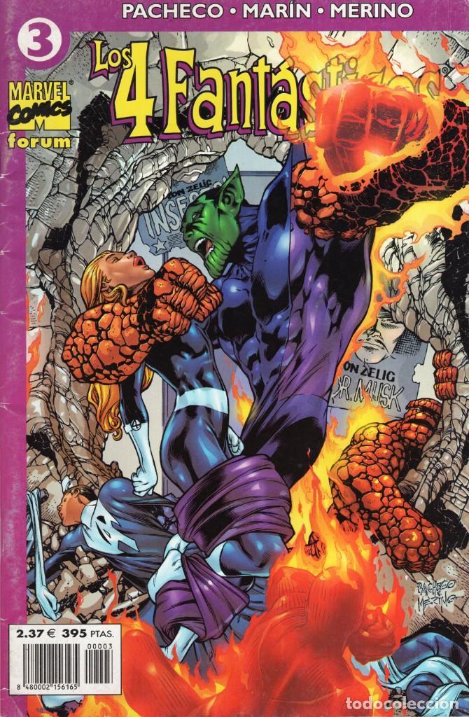 LOS 4 FANTASTICOS VOL. 4 Nº 3 - FORUM - SUB03Q (Tebeos y Comics - Forum - 4 Fantásticos)