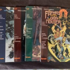 Cómics: FRITZ LEIBER'S FAFHRD AND THE GRAY MOUSER. EPIC COMICS. SERIE DE 4 PRESTIGIOS. Lote 287741913