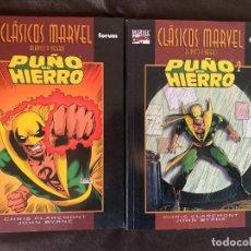 Cómics: CLASICOS MARVEL BLANCO Y NEGRO: PUÑO DE HIERRO DE CLAREMONT Y BYRNE - D2 - COMPLETA. Lote 287746243