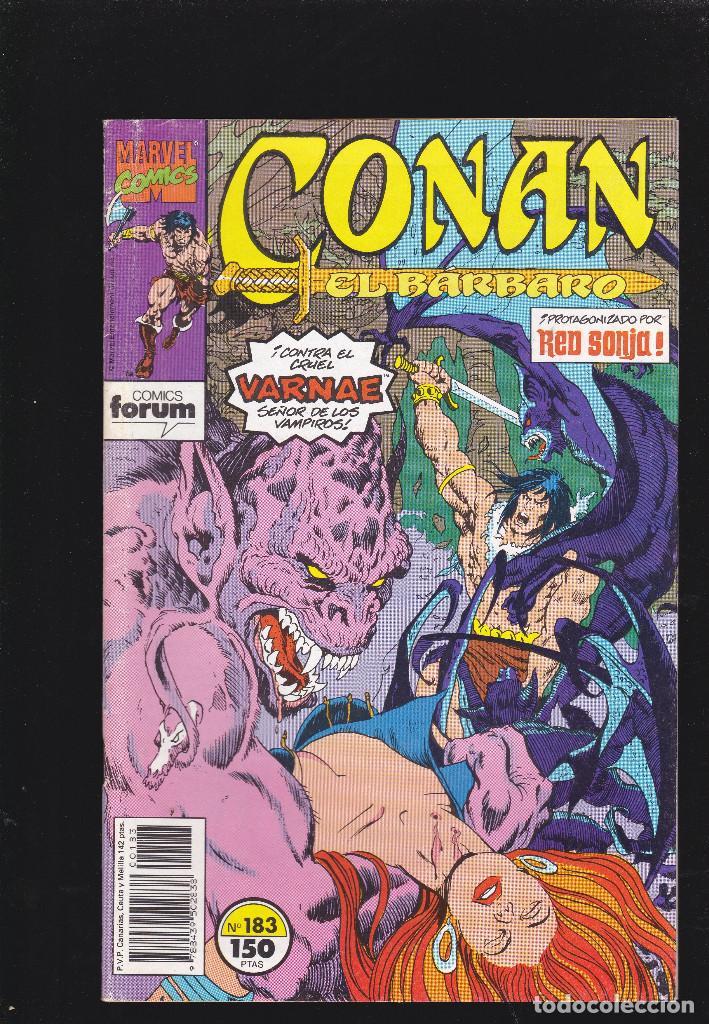 CONAN EL BÁRBARO - VOL 1 - Nº 183 - EL IMPERIO DE LOS NO-MUERTOS - FORUM - (Tebeos y Comics - Forum - Conan)