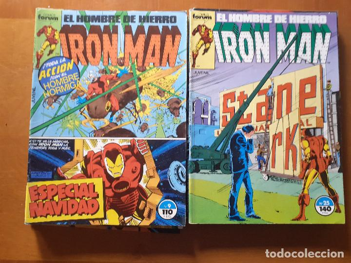 Cómics: Iron Man. Forum volumen 1. Lote. Ver números. - Foto 2 - 287843653