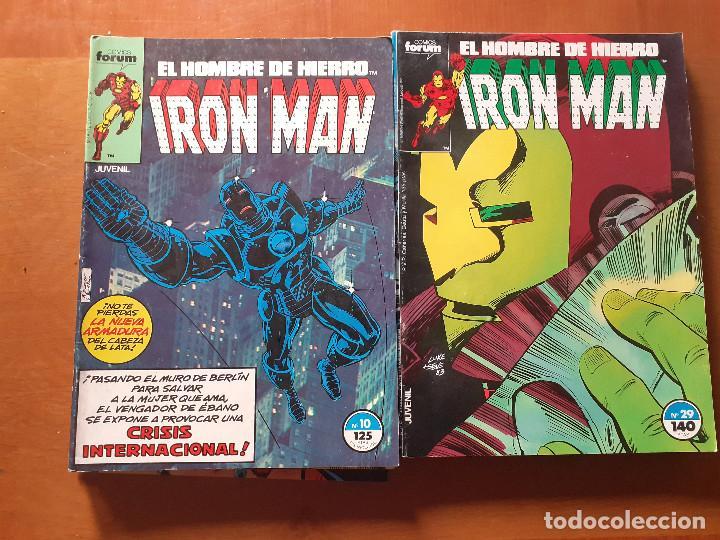 Cómics: Iron Man. Forum volumen 1. Lote. Ver números. - Foto 3 - 287843653