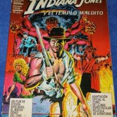 Cómics: INDIANA JONES Y EL TEMPLO MALDITO - EDICIONES FORUM (1984). Lote 287855748