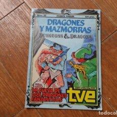 Cómics: DRAGONES Y MAZMORRAS Nº 25 LA CUEVA DE LOS DRAGONES FANTASTICOS - EDICIONES FORUM 1985. Lote 287880673
