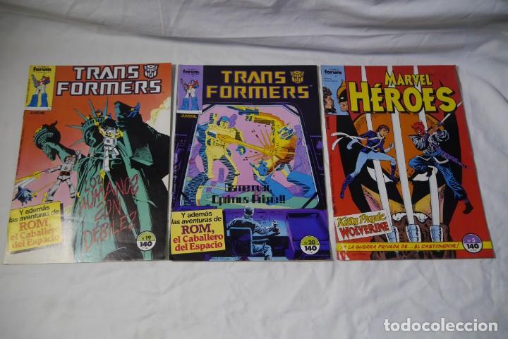 Cómics: 33 comic Forum superheroes varios, como nuevos, ver números en fotos adicionales - Foto 2 - 287947908