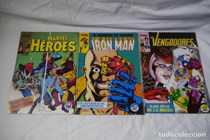 Cómics: 33 comic Forum superheroes varios, como nuevos, ver números en fotos adicionales - Foto 3 - 287947908