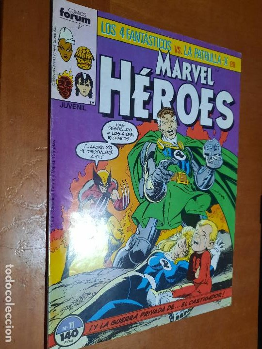 MARVEL HEROES 11. GRAPA. BUEN ESTADO PERO LE FALTA TROCITO EN 1ª PÁG. NO AFECTA A TEXTO (Tebeos y Comics - Forum - Otros Forum)