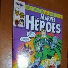 Cómics: MARVEL HEROES 11. GRAPA. BUEN ESTADO PERO LE FALTA TROCITO EN 1ª PÁG. NO AFECTA A TEXTO. Lote 287960728