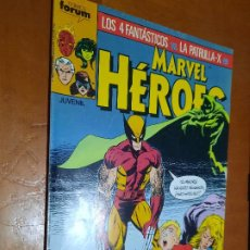 Cómics: MARVEL HEROES 12. GRAPA. BUEN ESTADO PERO LE FALTA TROCITO EN 1ª PÁG. NO AFECTA A TEXTO. Lote 287960753