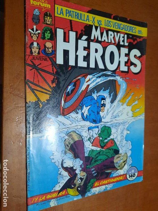 MARVEL HEROES 9 GRAPA. BUEN ESTADO PERO LE FALTA TROCITO EN 1ª PÁG. NO AFECTA A TEXTO (Tebeos y Comics - Forum - Otros Forum)