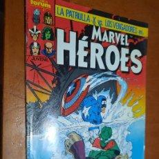 Cómics: MARVEL HEROES 9 GRAPA. BUEN ESTADO PERO LE FALTA TROCITO EN 1ª PÁG. NO AFECTA A TEXTO. Lote 287960863