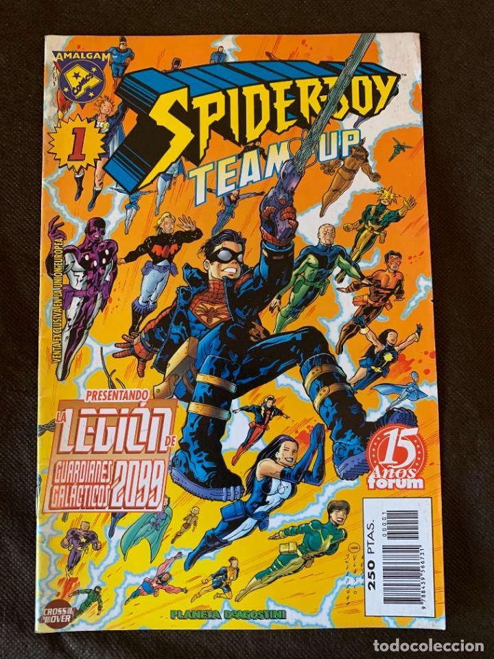 Cómics: Amalgam Completa a Falta de Bruce Wayne Agente de SHIELD - Vol. 1 + Vol. 2 - Foto 2 - 287976103