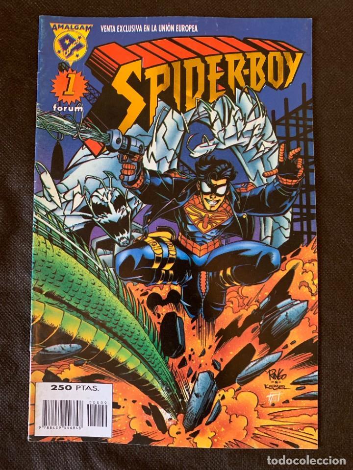 Cómics: Amalgam Completa a Falta de Bruce Wayne Agente de SHIELD - Vol. 1 + Vol. 2 - Foto 3 - 287976103