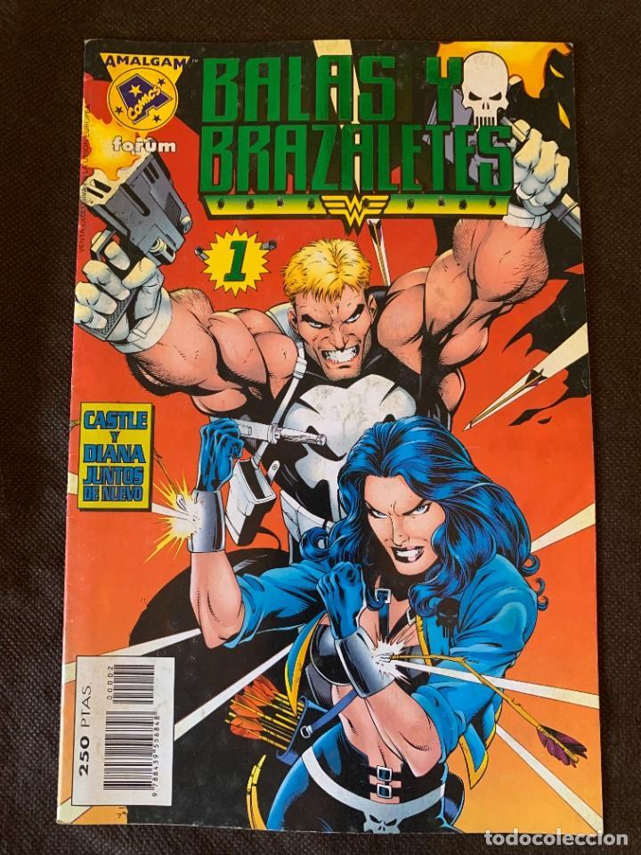 Cómics: Amalgam Completa a Falta de Bruce Wayne Agente de SHIELD - Vol. 1 + Vol. 2 - Foto 7 - 287976103