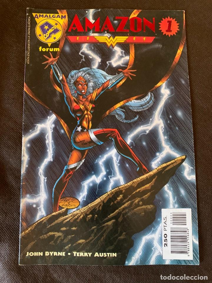 Cómics: Amalgam Completa a Falta de Bruce Wayne Agente de SHIELD - Vol. 1 + Vol. 2 - Foto 8 - 287976103