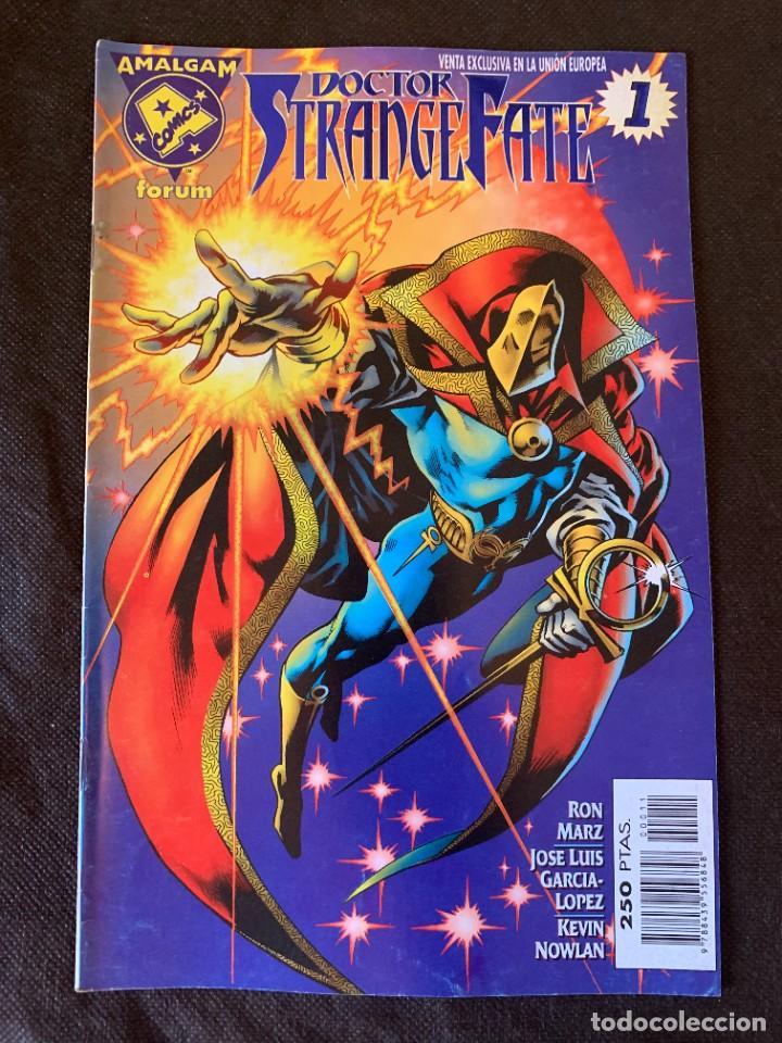 Cómics: Amalgam Completa a Falta de Bruce Wayne Agente de SHIELD - Vol. 1 + Vol. 2 - Foto 19 - 287976103