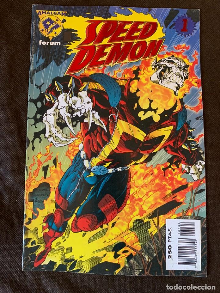 Cómics: Amalgam Completa a Falta de Bruce Wayne Agente de SHIELD - Vol. 1 + Vol. 2 - Foto 22 - 287976103
