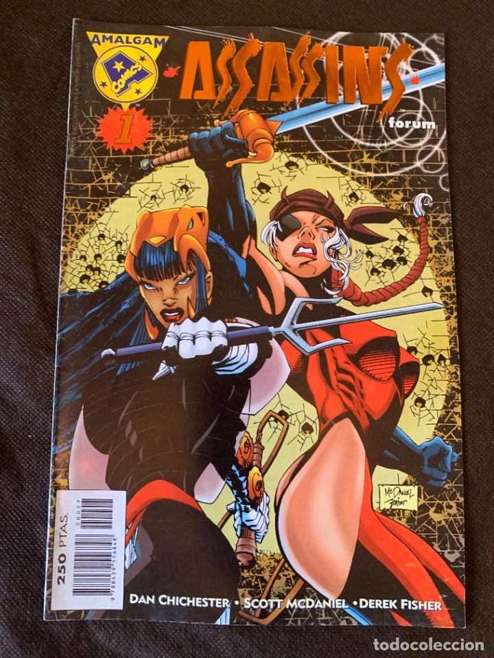 Cómics: Amalgam Completa a Falta de Bruce Wayne Agente de SHIELD - Vol. 1 + Vol. 2 - Foto 23 - 287976103