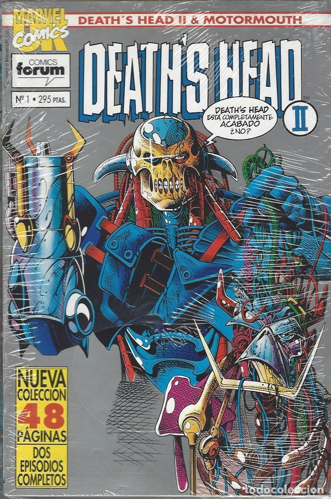 DEATH'S HEAD II & MOTORMOUTH - 12 NºS - COMPLETA - BUEN ESTADO (Tebeos y Comics - Forum - Otros Forum)