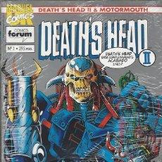 Cómics: DEATH'S HEAD II & MOTORMOUTH - 12 NºS - COMPLETA - BUEN ESTADO. Lote 287984653