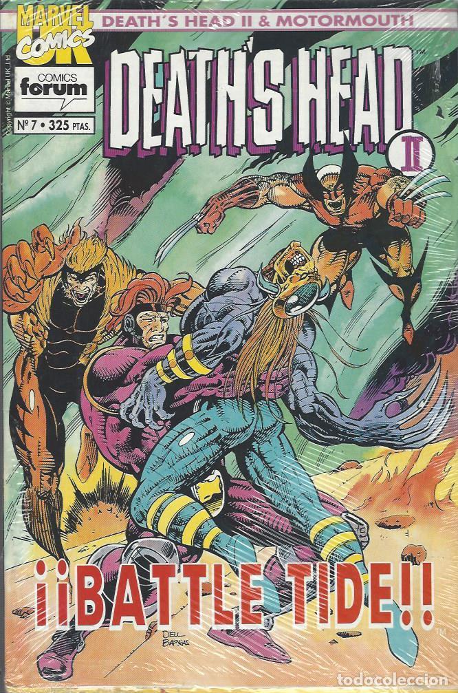 Cómics: DEATHS HEAD II & MOTORMOUTH - 12 Nºs - COMPLETA - BUEN ESTADO - Foto 2 - 287984653