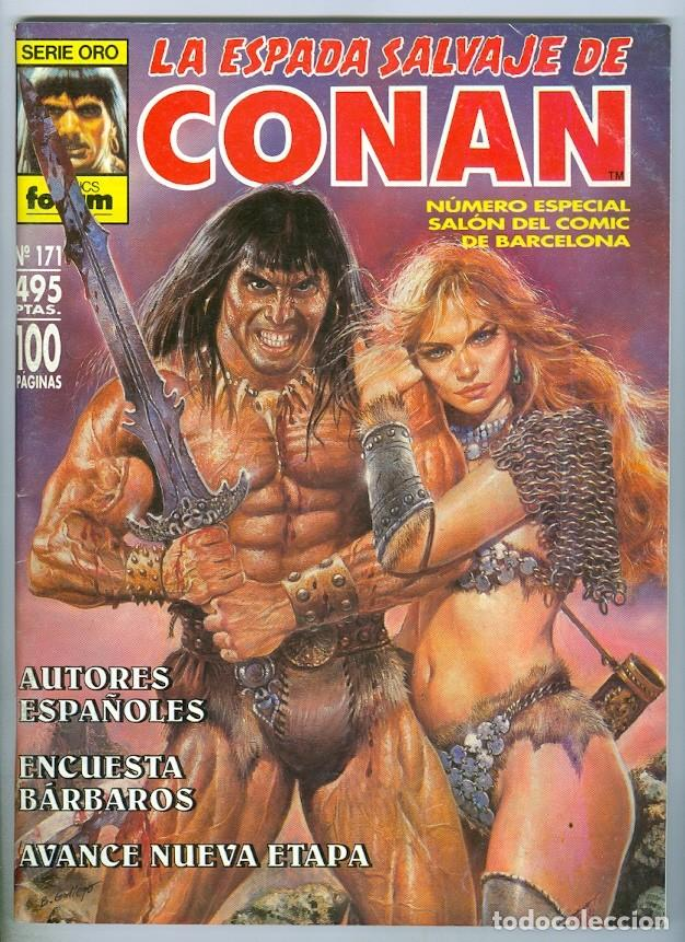 FORUM. LA ESPADA SALVAJE DE CONAN. 171. (Tebeos y Comics - Forum - Conan)