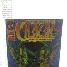 Cómics: LOS ARCHIVOS DEL CHACAL , ESPECIAL SPIDERMAN. Lote 288053788