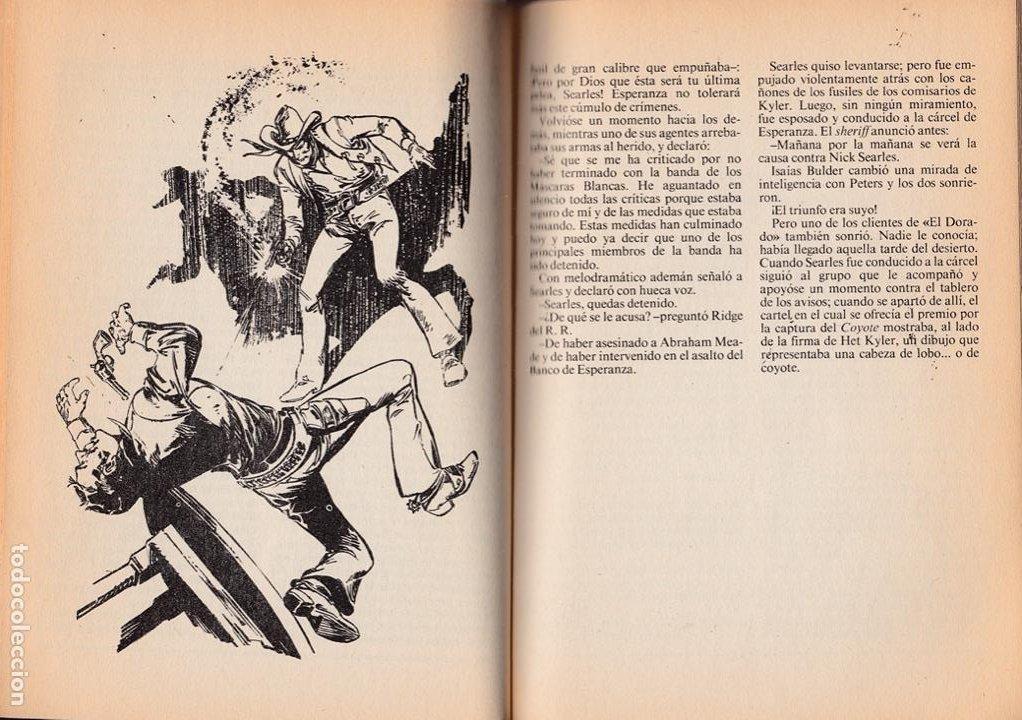 Cómics: La sombra del Coyote. El Coyote acorralado / J. Mallorquí * El Coyote nº 3 * .—Ediciones Forum, D.L. - Foto 2 - 288054938