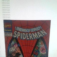 Cómics: LOS ENEMIGOS LETALES DE SPIDERMAN NUM. 3 DE 4. Lote 288055348