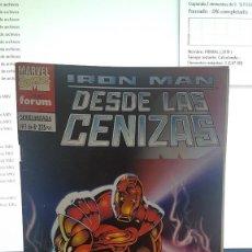 Cómics: IRON MAN DESDE LAS CENIZAS. Lote 288080038