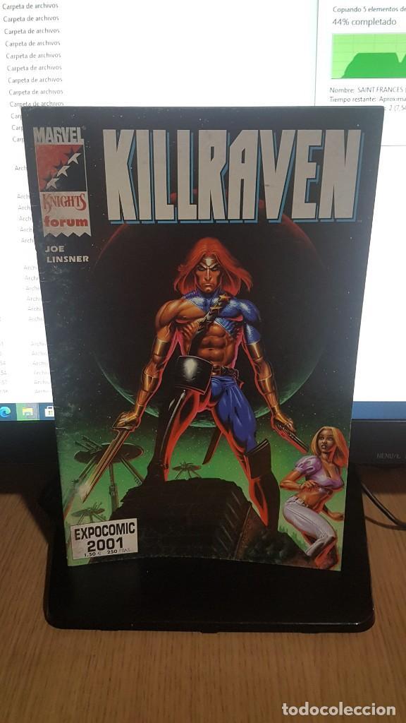 KILLRAVEN (Tebeos y Comics - Forum - Otros Forum)