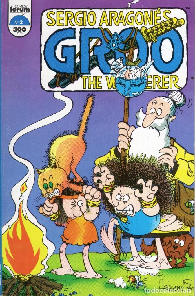 GROO THE WANDERER Nº 2 - FORUM - MUY BUEN ESTADO - OFM15 (Tebeos y Comics - Forum - Otros Forum)