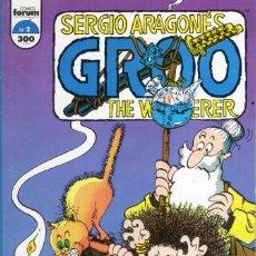 Cómics: GROO THE WANDERER Nº 2 - FORUM - MUY BUEN ESTADO - OFM15. Lote 288127158